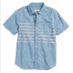 Tucker + Tate - Short Sleeve Chambray Woven Shirt